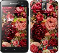 """Чохол на Lenovo A328 Квітучі троянди """"2701u-230"""""""