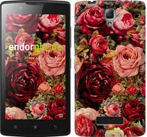 """Чохол на Lenovo A2010 Квітучі троянди """"2701c-216"""""""