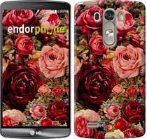 """Чохол на LG G3 D855 Квітучі троянди """"2701c-47"""""""