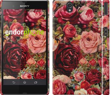"""Чохол на Sony Xperia Z C6602 Квітучі троянди """"2701c-40"""""""