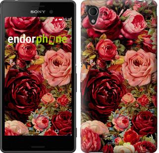 "Чехол на Sony Xperia C4 Цветущие розы ""2701u-295"""