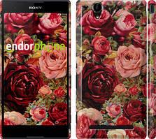 "Чохол на Sony Xperia T2 Ultra Dual D5322 Квітучі троянди ""2701c-92"""