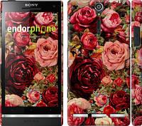 """Чехол на Sony Xperia SP M35H Цветущие розы """"2701c-280"""""""