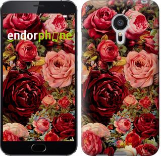 """Чехол на Meizu MX5 Цветущие розы """"2701u-105"""""""