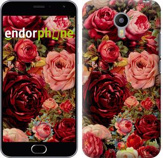 """Чехол на Meizu M3 Цветущие розы """"2701c-272"""""""