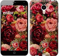 """Чохол на Meizu M1 Note Квітучі троянди """"2701u-172"""""""