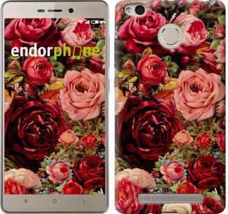 """Чохол на Xiaomi Redmi 3s Квітучі троянди """"2701c-357"""""""