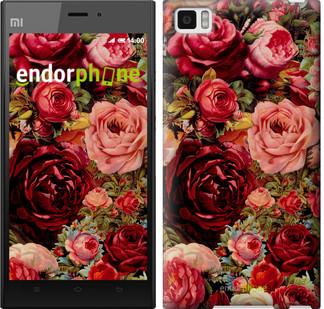 """Чохол на Xiaomi Mi3 Квітучі троянди """"2701u-170"""""""