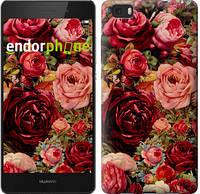 "Чохол на Huawei Ascend P8 Lite Квітучі троянди ""2701u-126"""