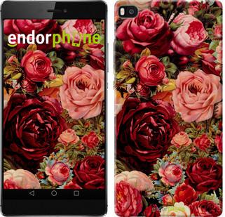 """Чохол на Huawei Ascend P8 Квітучі троянди """"2701u-123"""""""