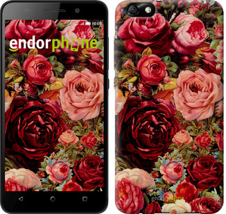 "Чехол на Huawei Honor 4X Цветущие розы ""2701u-166"""