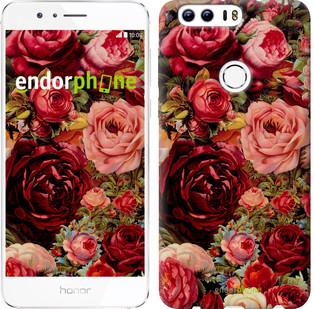 """Чохол на Huawei Honor 8 Квітучі троянди """"2701u-351"""""""