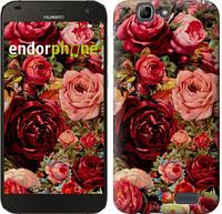 """Чехол на Huawei Ascend G7 Цветущие розы """"2701u-147"""""""