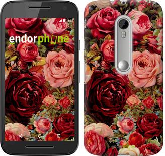 """Чехол на Motorola Moto G3 Цветущие розы """"2701u-318"""""""