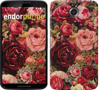 """Чехол на Motorola Moto E Цветущие розы """"2701u-373"""""""