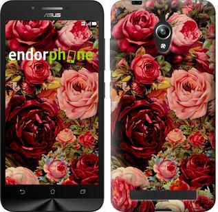"""Чехол на Asus Zenfone Go ZC500TG Цветущие розы """"2701c-160"""""""