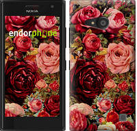 "Чехол на Nokia Lumia 650 Цветущие розы ""2701c-393"""