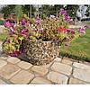 Вазон садовый уличный «Фиеста» бетонный - Фото
