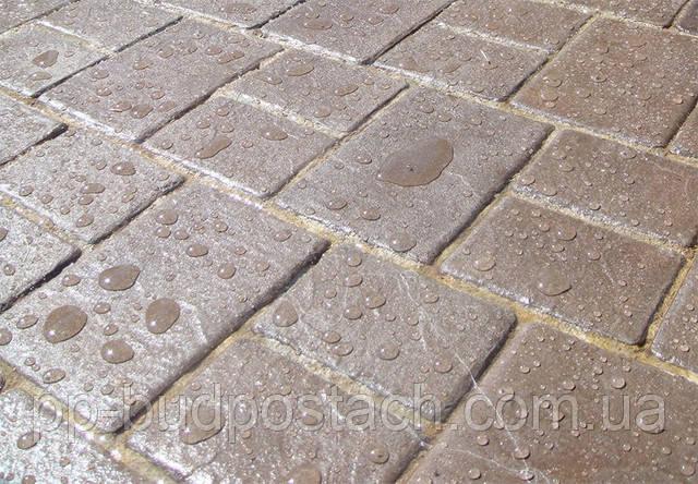 Бруківка на бетонній основі