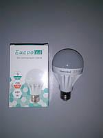 LED ЛЕД светодиодная лампа Eucooled 9Вт 9W 6500К