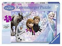 Пазл в рамке Ravensburger Холодное сердце 35 элементов (08766R)