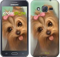 "Чехол на Samsung Galaxy J2 J200H Нарисованный йоркширский терьер ""928c-190"""