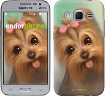 """Чохол на Samsung Galaxy J1 Mini J105H Намальований йоркширський тер'єр """"928c-258"""""""