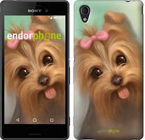 """Чохол на Sony Xperia C4 Намальований йоркширський тер'єр """"928u-295"""""""