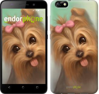 "Чехол на Huawei Honor 4X Нарисованный йоркширский терьер ""928u-166"""