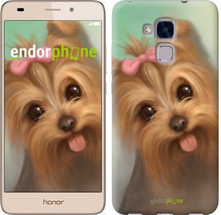 "Чехол на Huawei Honor 5C Нарисованный йоркширский терьер ""928u-356"""