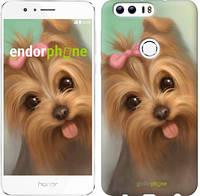 "Чехол на Huawei Honor 8 Нарисованный йоркширский терьер ""928u-351"""