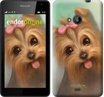 """Чохол на Microsoft Lumia 640 Намальований йоркширський тер'єр """"928c-273"""""""