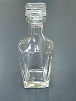 Графин-бутылка квадратный 0,5 л СД 01-500Б