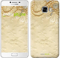 """Чехол на Samsung Galaxy C7 C7000 Кружевной орнамент """"2160u-302"""""""
