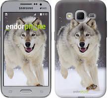 """Чохол на Samsung Galaxy J1 Mini J105H Біжить вовк """"826c-258"""""""