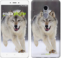 """Чохол на Xiaomi Redmi Note 4 Біжить вовк """"826c-352"""""""
