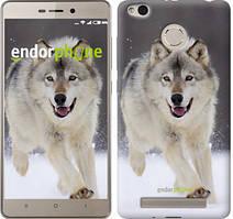 "Чехол на Xiaomi Redmi 3 Pro Бегущий волк ""826c-341"""