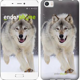 """Чехол на Xiaomi Mi5 Бегущий волк """"826c-180"""""""