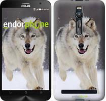 """Чохол на Asus Zenfone 2 ZE551ML Біжить вовк """"826c-122"""""""