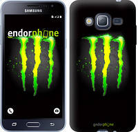 "Чехол на Samsung Galaxy J3 Duos (2016) J320H Monster energy ""821c-265"""