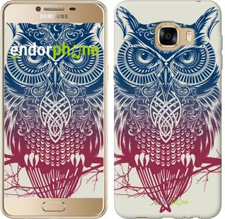 "Чехол на Samsung Galaxy C5 C5000 Сова 2 ""2726u-301"""
