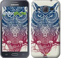 """Чехол на Samsung Galaxy J2 J200H Сова 2 """"2726c-190"""""""