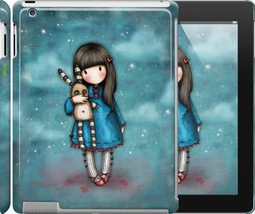 "Чехол на iPad Pro 9.7 Девочка с зайчиком ""915u-363"""