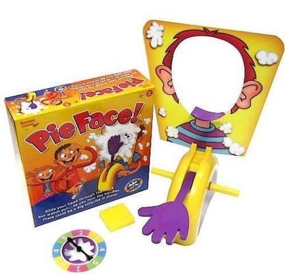 Игра Торт в лицо Pie Face детская русская рулетка