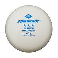 Бесшовные пластиковые мячи Schildkröt Super 3 star 40+ (1 шт.)