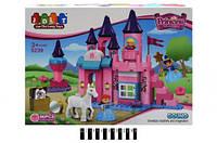 Конструктор для девочки brick Замок 5241 в коробке 140 деталей 60х125х45 см
