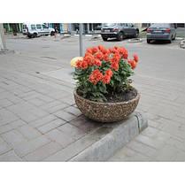Вазон садовый уличный «Чаша» бетонный, фото 2
