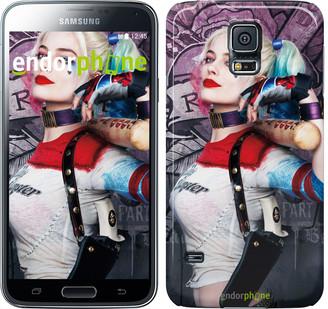 "Чехол на Samsung Galaxy S5 Duos SM G900FD Отряд самоубийц ""3763c-62"""