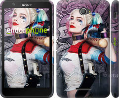 """Чохол на Sony Xperia E4 Dual Загін самогубців """"3763c-87"""""""