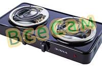 Электроплита (Спиральная) - 200 (2 узкие тэны) (ЭЛНА)